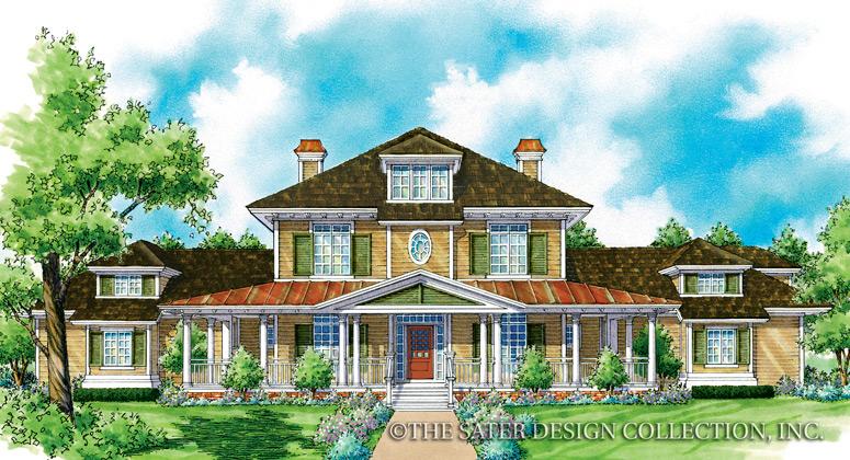 Sater design carriage house custom homes interiors inc for Grand home designs inc